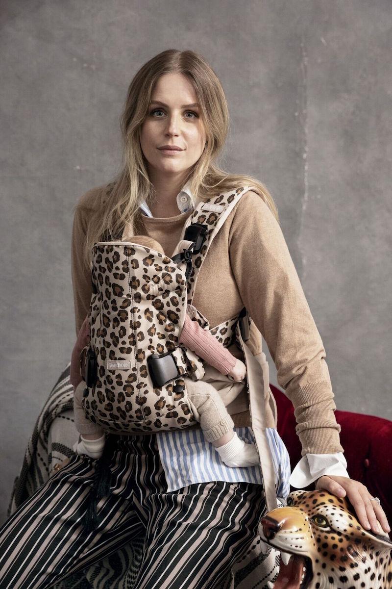 Babybjorn draagzak one luipaard