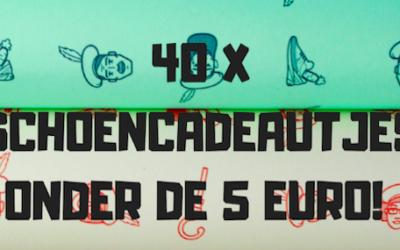40 X SCHOENCADEAUTJES ONDER DE 5 EURO!