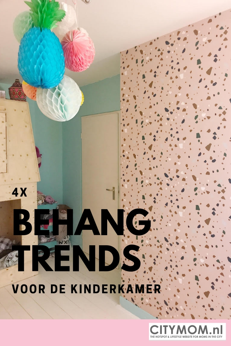 Leuk Behang Kinderkamer.4x Kinderkamer Behang Trends Die Je Kinderen Leuk Zullen Vinden