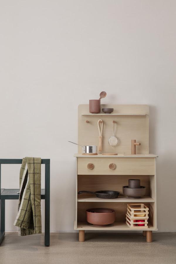 Ferm Living houtenkeuken