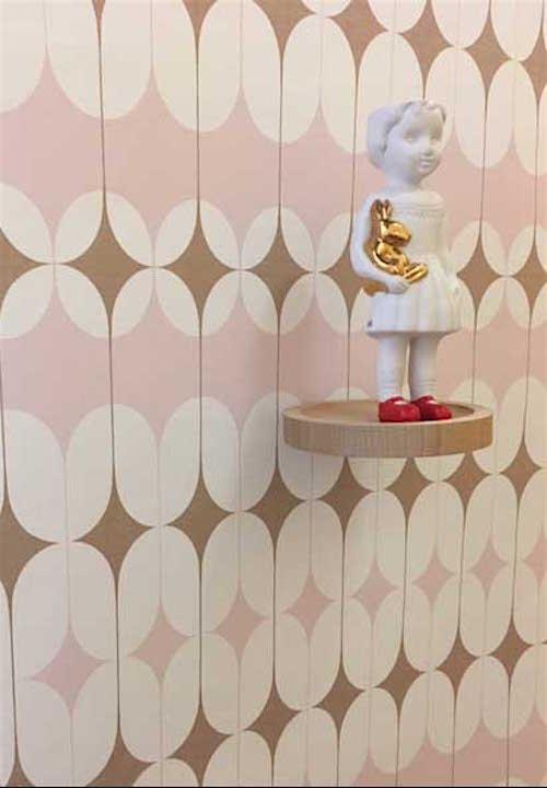 Roze memphis behang Studio Onszelf