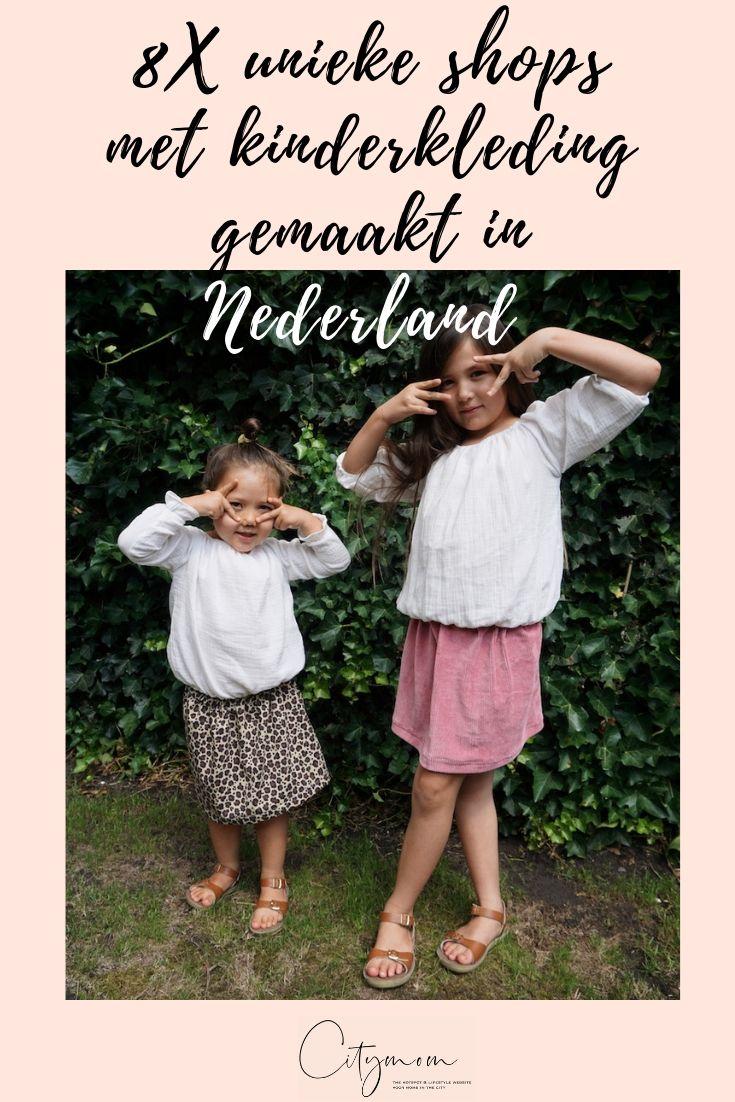 8X UNIEKE SHOPS MET KINDERKLEDING GEMAAKT IN NEDERLAND