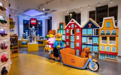 LEGO FLAGSHIP STORE NU IN AMSTERDAM