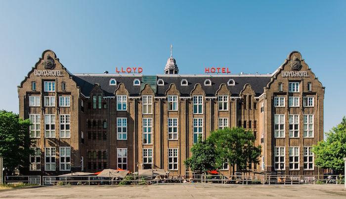 LLOYD HOTEL IN AMSTERDAM: IDEAAL OM TE LOGEREN MET KINDEREN