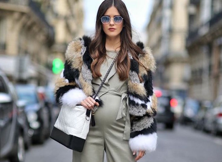 PREGNANT STREETSTYLE; 12 COOL WINTER LOOKS