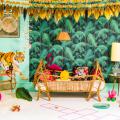 Tropische Babykamer