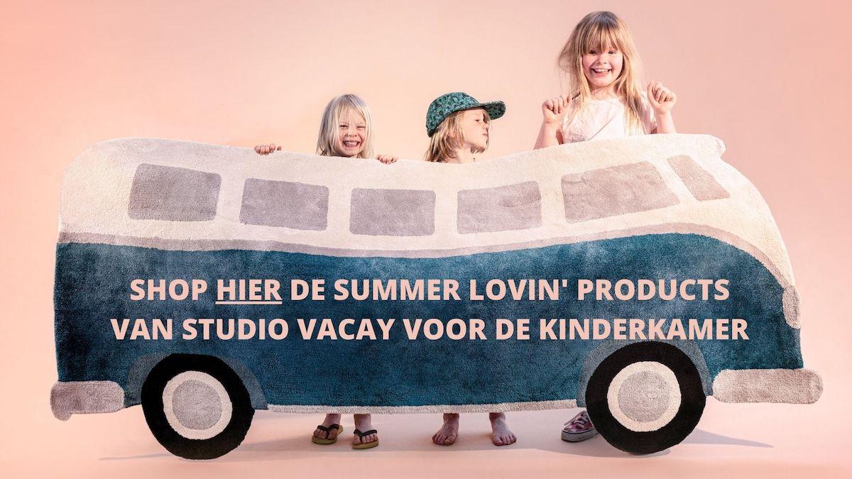 SHOP HIER DE SUMMER LOVIN' PRODUCTS VAN STUDIO VACAY VOOR DE KINDERKAMER